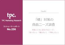 ◇新刊◇「『糖』対策の商品ニーズ調査」