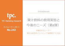 果汁飲料の飲用実態と今後のニーズについて調査結果を発表